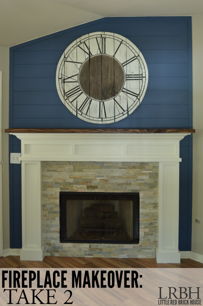 Fireplace Makeover: Take 2